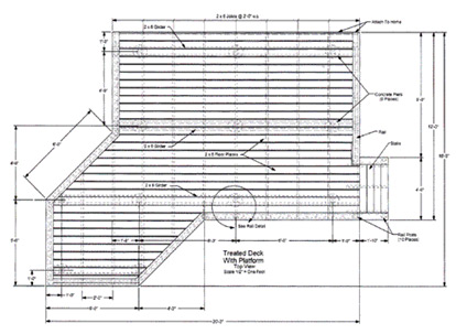 Woodwork blueprint deck building pdf plans for Wood deck plans pdf